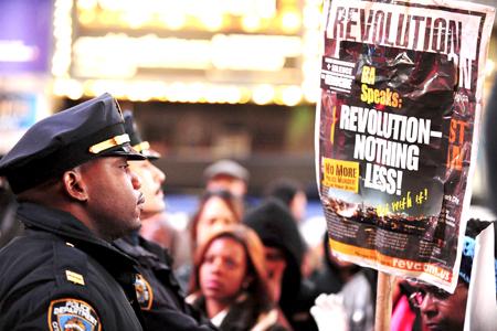 Ochenta y tres personas fueron detenidas en las manifestaciones en varios barrios de Nueva York