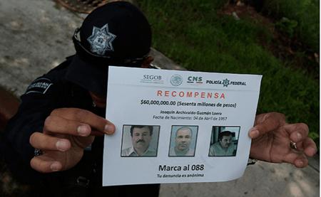 """El Gobierno de México aseguró en comparecencia ante una comisión del Congreso que recapturará al narcotraficante Joaquín """"El Chapo"""" Guzmán Loera AGENCIAS"""