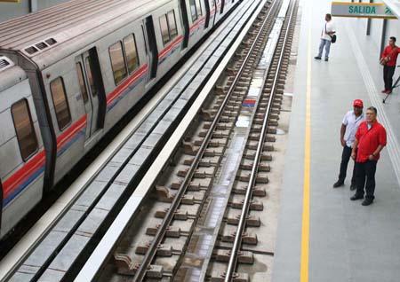 Con una inversión de 500 millones de bolívares y 47 millones de dólares fue inaugurada este miércoles la cuarta estación del sistema Metro Los Teques: Ayacucho, que beneficiará a más de 14 mil familias.