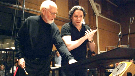 Dudamel hizo las grabaciones respectivas el pasado 12 de octubre