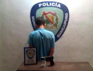 El aprehendido fue puesto a la orden de la fiscalía
