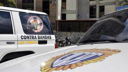 El cuarteto de hampones fueron capturados en la carretera vieja Caracas – Los Teques