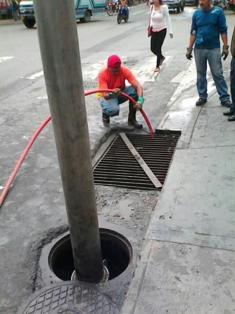 Las tareas se ejecutaron en las avenidas Bermúdez, Bolívar y Bicentenario.