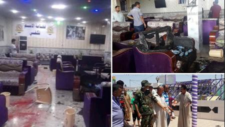 Un grupo de hombres armados de Dáesh (acrónimo árabe del EI) vestidos con uniformes de las fuerzas de seguridad atacaron hacia medianoche un café en Balad con granadas y armas de fuego