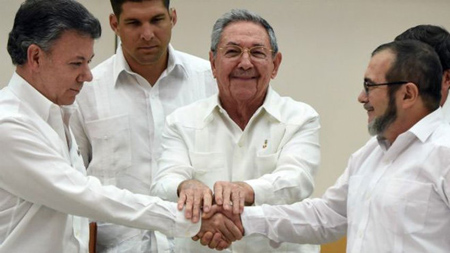 Gobierno colombiano espera firmar acuerdo definitivo de paz en agosto