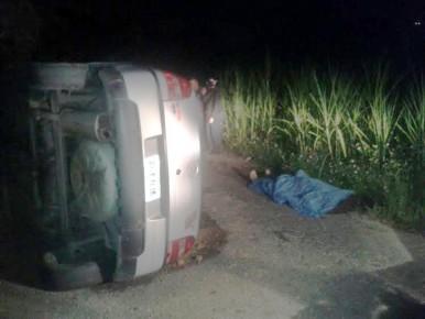 El cuerpo de Soltero (40) fue hallado en su vehículo volcado en Club de Campo