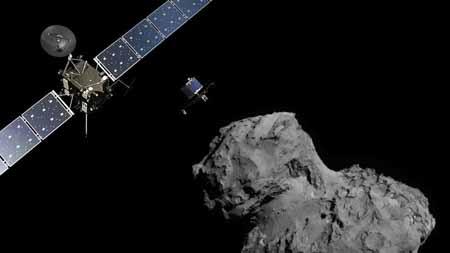 A partir del momento del impacto, la Tierra tuvo que esperar unos 40 minutos para ser informada por ondas de radio por la sonda, que operó en piloto automático.
