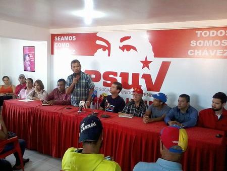 El representante oficialista repudió las acciones llevadas a cabo por la oposición venezolana e invitó al pueblo chavista a la marcha en respaldo a la Constitución