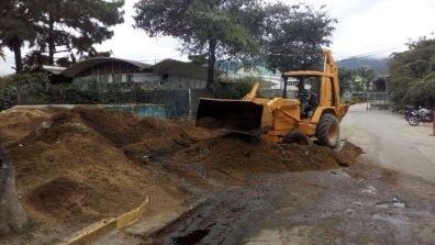 Las autoridades del Instituto Nacional de Hipódromos siguen realizando mejoras a las instalaciones del Hipódromo La Rinconada
