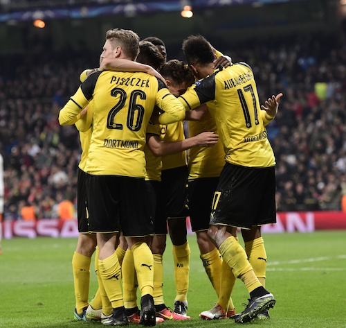 El Dortmund le complicó las cosas a los blancos AFP / Javier Soriano