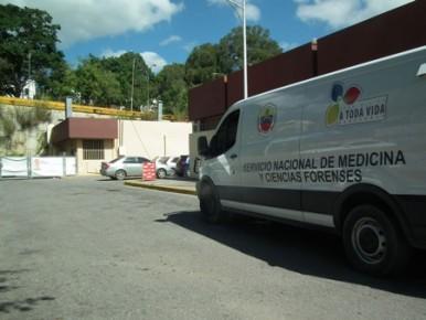 Su cuerpo fue trasladado a la medicatura forense local
