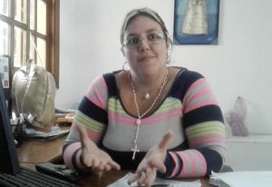 Vanesa Rodríguez, directora de Planificación Cultural  y Programas Sociales.