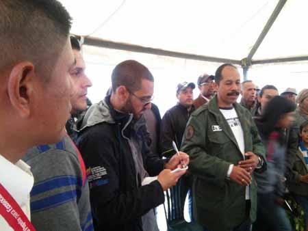 Alcalde del Municipio Tovar se trasladó a El Jarillo por segundo ocasión en menos de una semana tras crisis generada por tala de montaña.