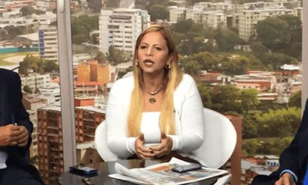 """Mirabal: """"Mi mensaje para la mujer venezolana es que no permitamos que nos roben la esperanza""""."""