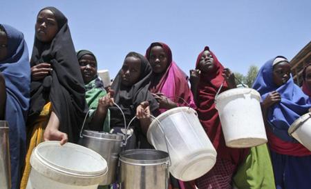 Los habitantes de la región viven los estragos causados por la sequía