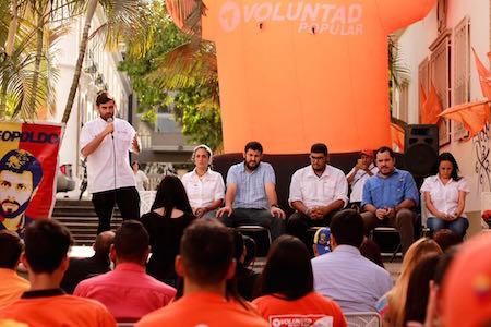 El dirigente de la tolda naranja hizo énfasis en que este martes será un día histórico para el país