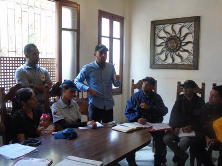 Fundación Los Teques realizó reunión con organismos de seguridad