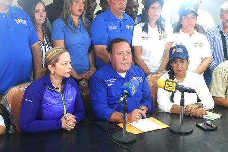 José Luis Rodríguez reiteró que se mantienen en lucha para restablecer el orden constitucional