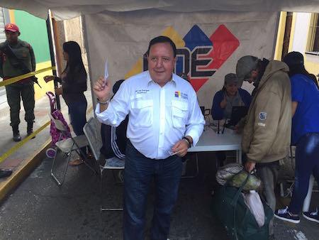 José Luis Rodríguez, presidente de UNT- Miranda validó en Los Teques