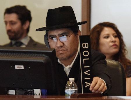 embajador bolivia oea