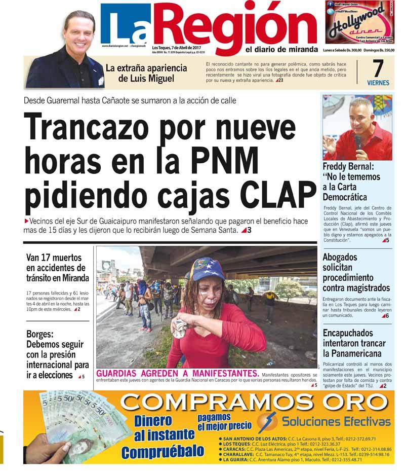 portada region miercoles