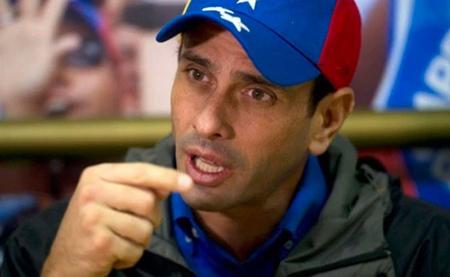Capriles calificó de ataque político el procedimiento castrense