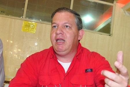 Rubén Díaz, dirigente del PSUV-Guaicaipuro