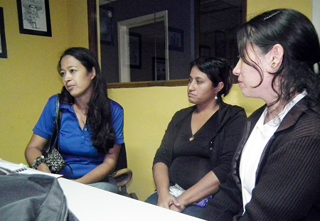 "Hermana de la víctima pidió junto a otros familiares ""justicia verdadera"".  Foto: Irbel Useche"