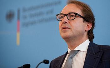 De este modo lo dio a conocer el ministro de Transportes alemán, Alexander Dobrindt.
