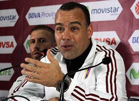 Dudamel habló con los medios ayer en San Cristóbal George Castellanos / AFP