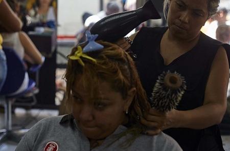 Ingresos de peluquerías han caído 60 % Foto: Deisy Peña