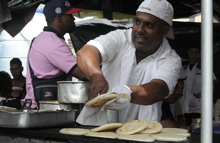 Hoy es día mundial de la suculenta arepa, con sello venezolano Foto: Deysi Peña