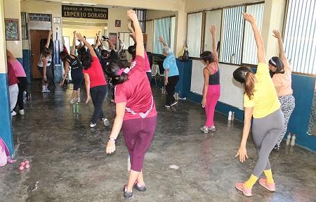 """La comunidad de carrizal estuvo una semana haciendo entrenamientos """"fitness"""""""