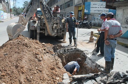 Más de 10 millones ha invertido Alcaldía de Carrizal para reparar fugas de agua