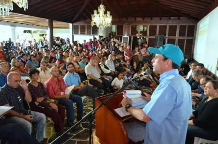El Gobernador dijo que está dispuesto a ir a las calles a protestar por el dinero que le adeuda el Gobierno Nacional a la Gobernación mirandina