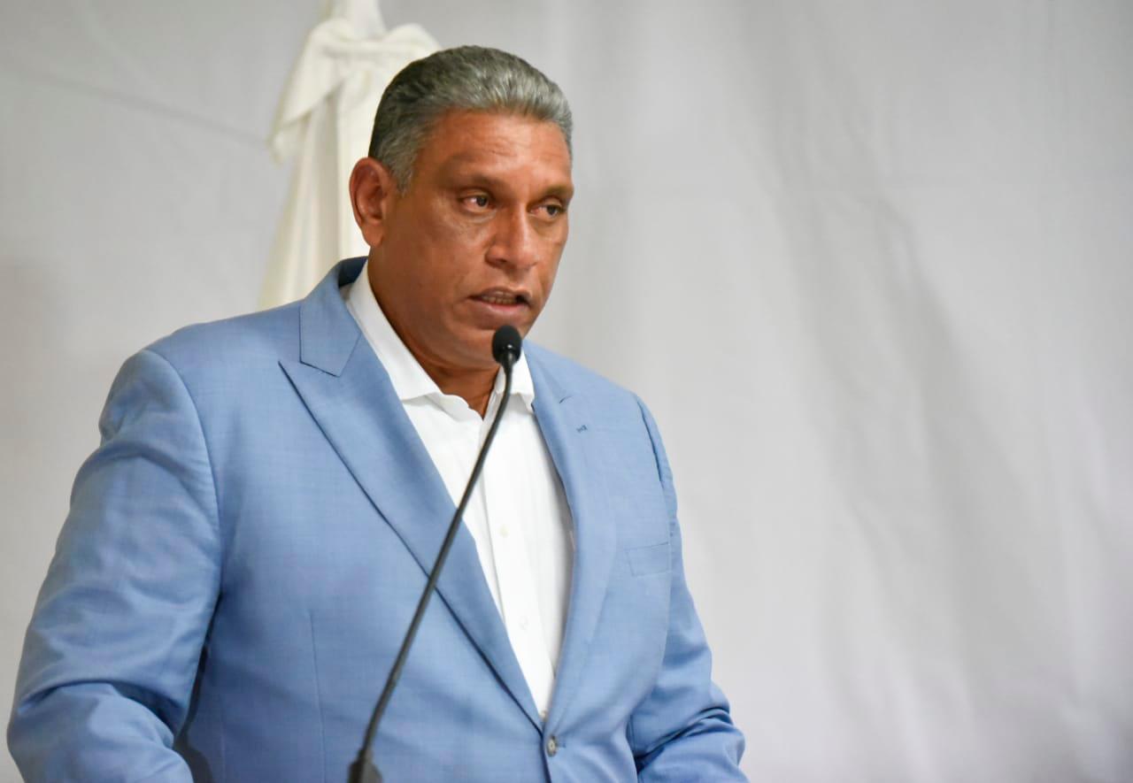 El ministro de Interior y Policías, Jesús -Chu- Vásquez.
