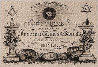 La Sun Tavern en un periódico de la época.