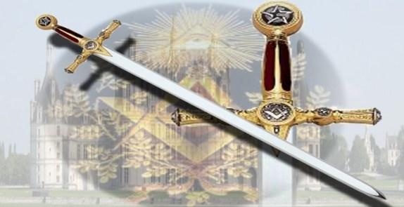 Resultado de imagen para foto de la espada en logia