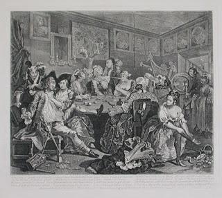 Grabado de William Hogarth