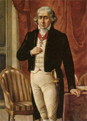 Jose Bonifacio de Andrada y Silva (1763-1838) Gran Maestro del Gran Oriente de Brasil