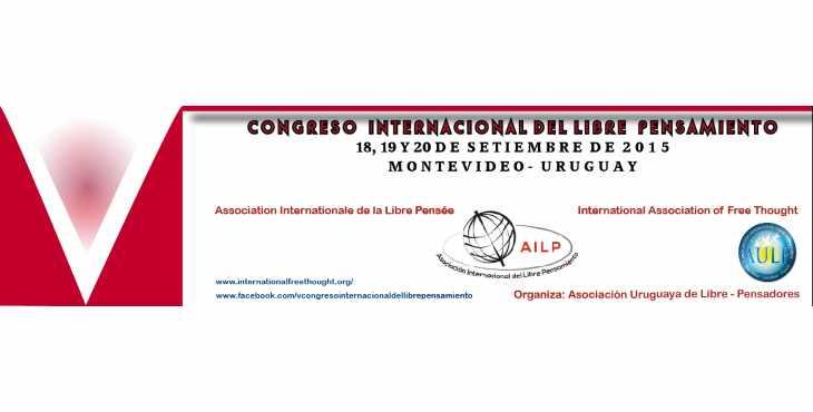 Próximo Congreso internacional del Libre Pensamiento en Uruguay