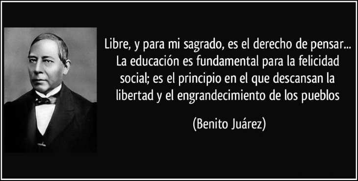 Efemérides: Benito Juárez
