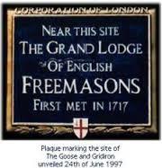 Placa de primera gran logia