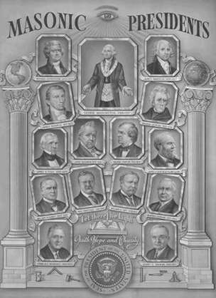 presidentes masones estados unidos