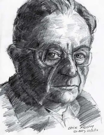 retrato erich fromm