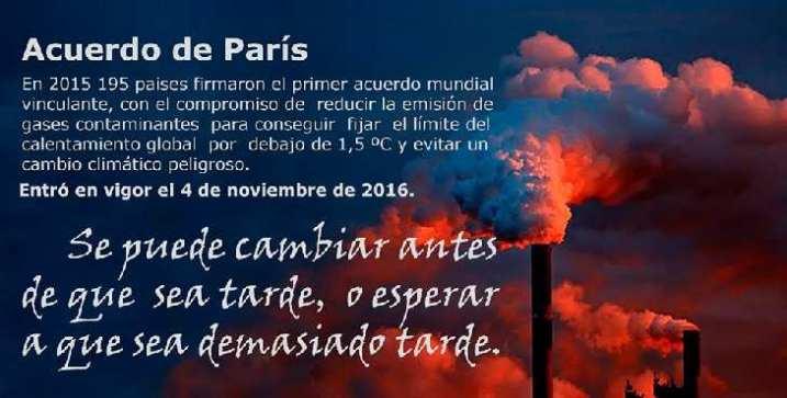 Efemérides: Acuerdo medioambiental de París