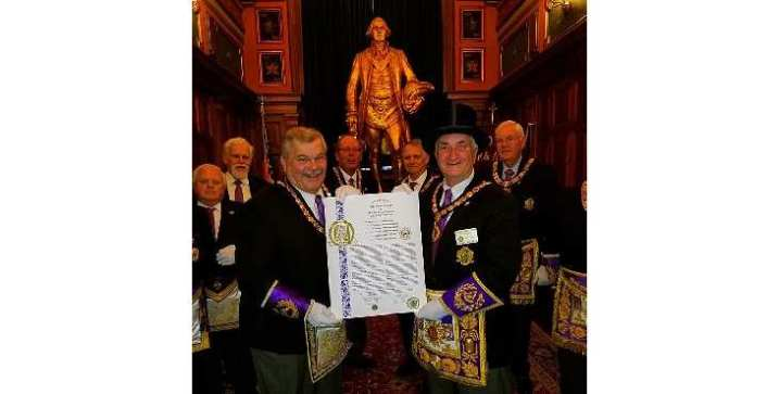 La Masonería de Nueva York firma el decreto de creación de la Gran Logia del Líbano