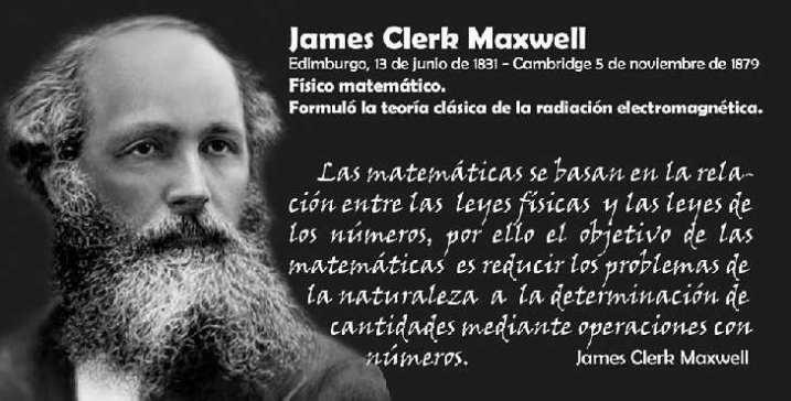 Efemérides: James Clerk Maxwell, creador de la teoría del electromagnetismo