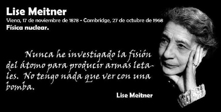 Lise Meitner, investigadora de la radioactividad
