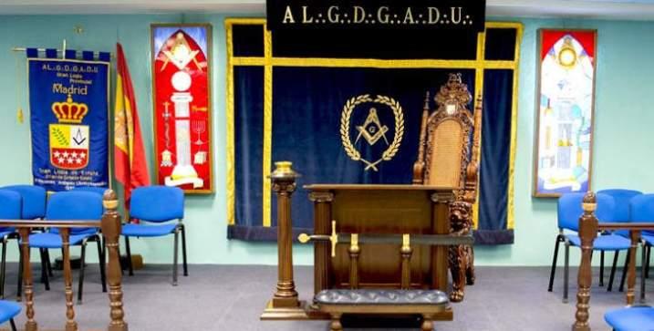 gran logia de españa mesa masonería grand lodge